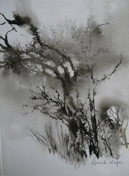 encre arbre mort