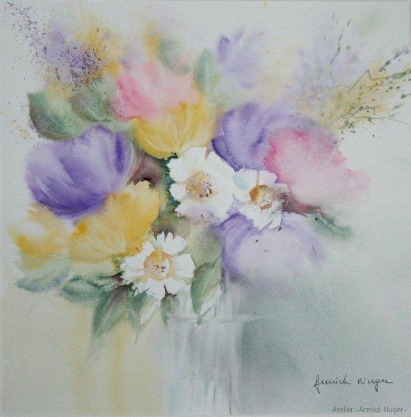 Gros bouquet de fleurs