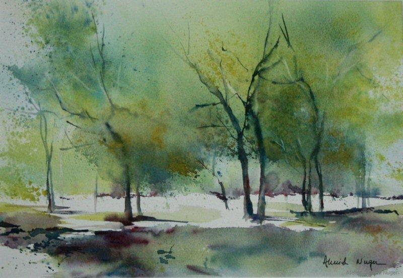 aquarelle Paysage-8