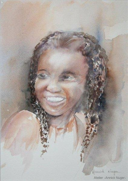 Aquarelle portrait-2