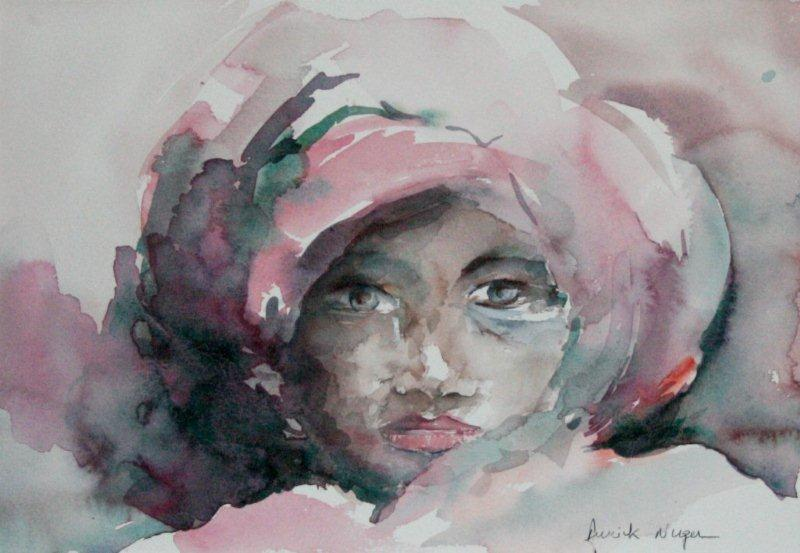 Aquarelle portrait-7