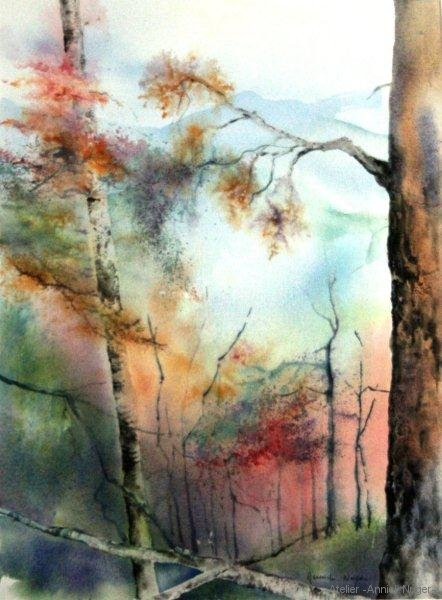 aquarelle Paysage-1