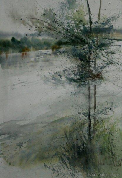 aquarelle Paysage-2