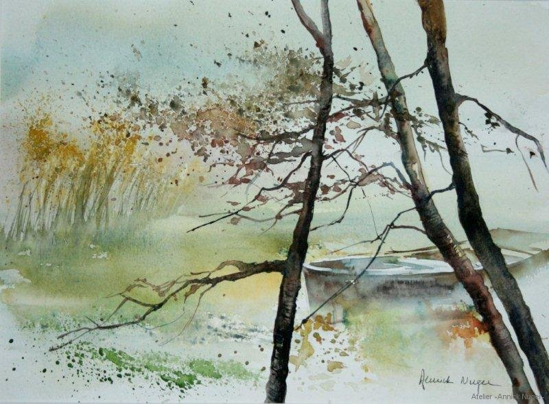 aquarelle Paysage-5
