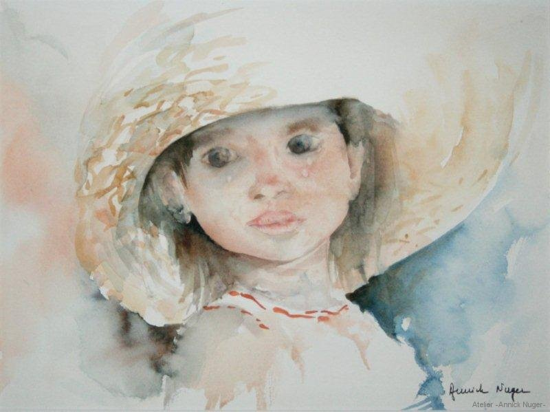 Aquarelle portrait-3