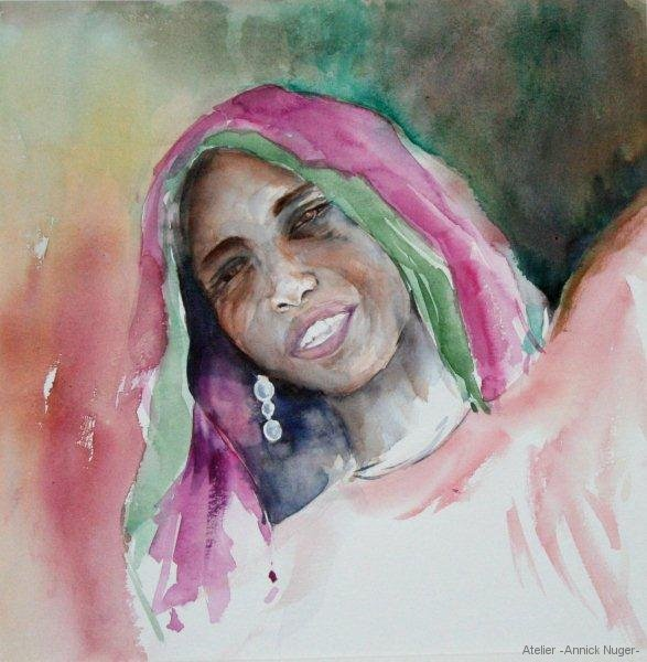 Aquarelle portrait-5