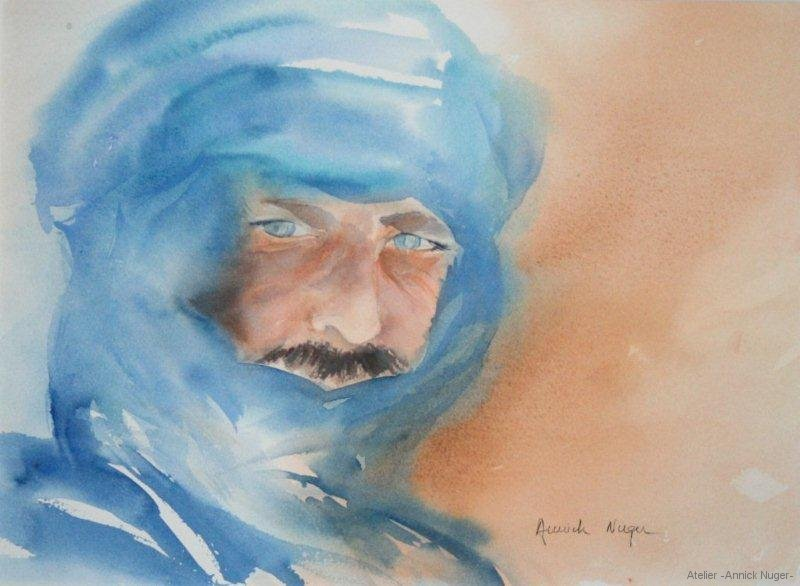 Aquarelle portrait-6