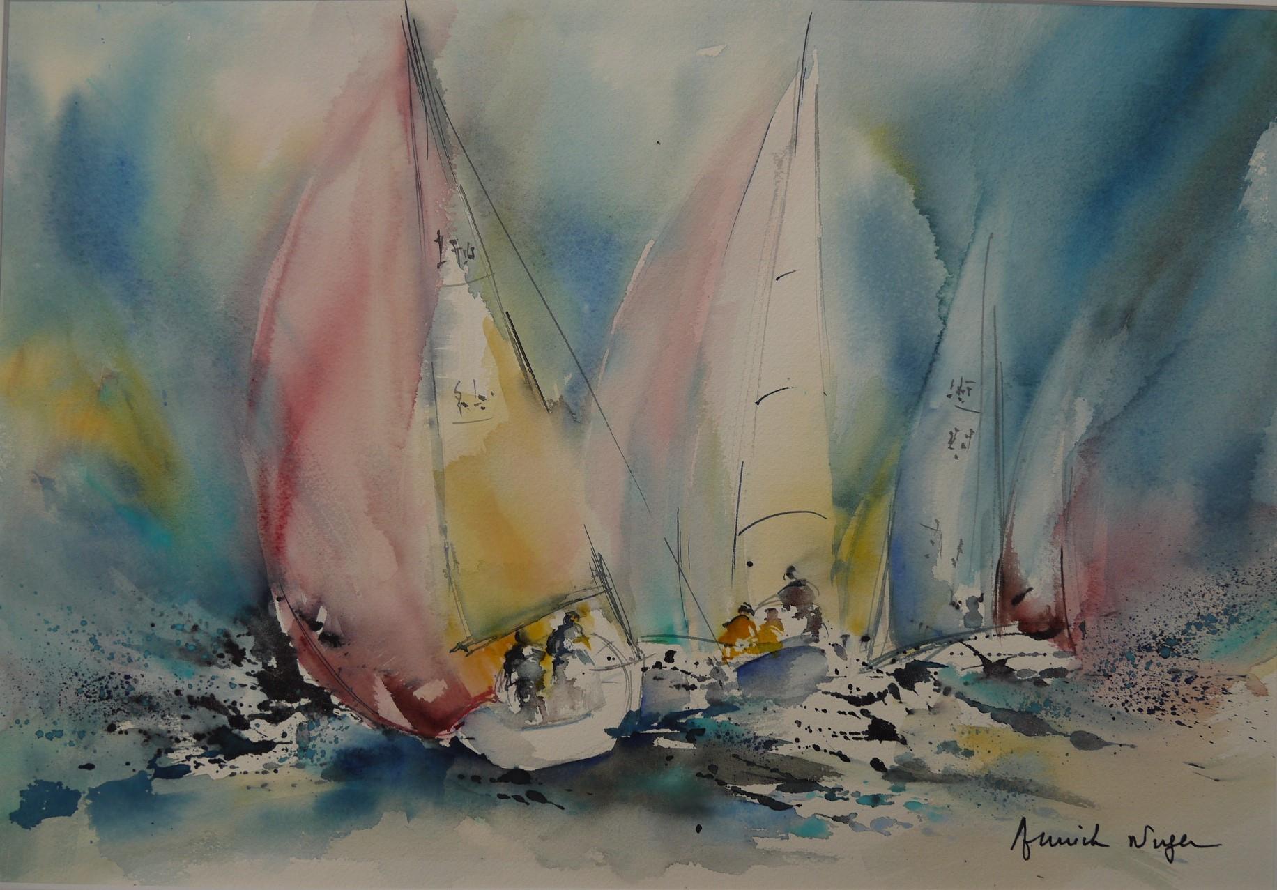 Atelier d'aquarelle d'Annick Nuger